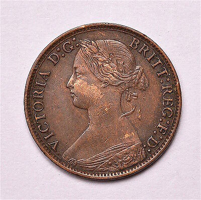 Victoria 1873 Farthing  ®155-A15