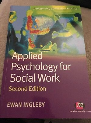 Applied Psychology for Social Work by Ewan Ingleby (Paperback, 2010)
