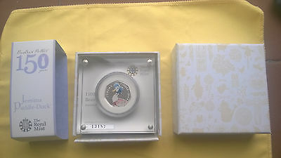 Jemima Puddle-Duck 2016 UK 50p Silver Proof Coin