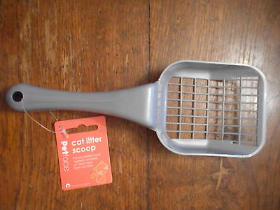 Pets At Home Grey Plastic Cat Litter Scoop BRAND NEW