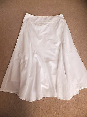 fatface size 10 ladies girls skirt white worn only twice