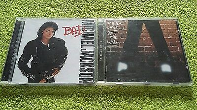 X2 Michael Jackson Cd's-Bad/off The Wall[Special Editions]