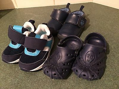 Boys Toddler Shoes 3 Pairs Size 4/5 Runners Brand New