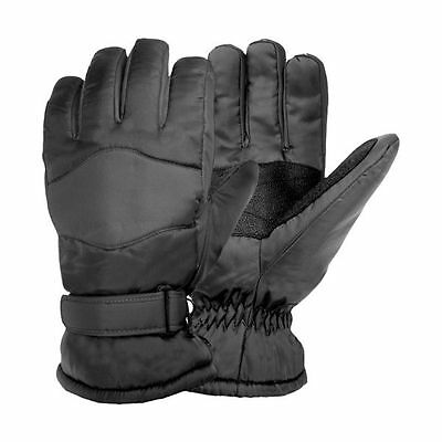 Men's Igloos Ski Winter Gloves - Black (XL)