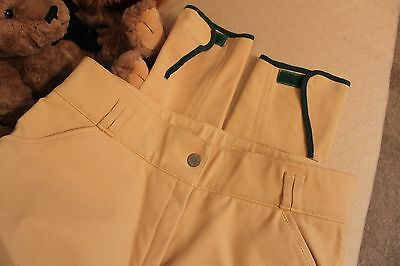 New Barbour Ladies Jodhpurs Riding Breeches Chamois Size 16