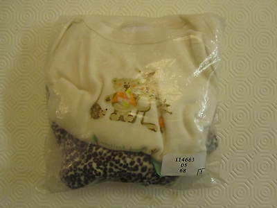 Baby Pyjamas, outfit, 6-9 months, velour, cotton, vest, long sleeve, BNWT