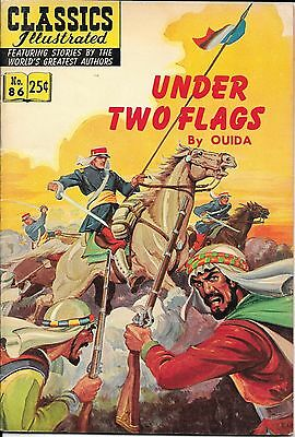 Classics Illustrated #86 - Under Two Flags (Jul 1969, Gilberton) by Ouida