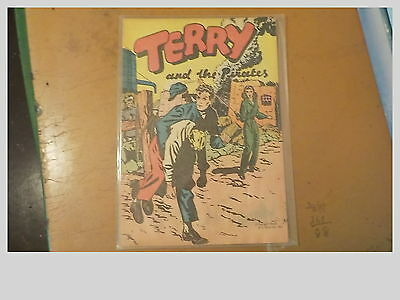 Vintage Terry And The Pirates Comic Book
