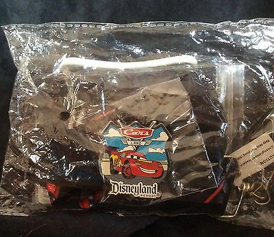 Trading Pin Disney Travel Company Lanyard & Cars Disneyland Resort Pin Brand New
