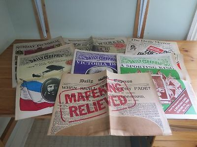Great Newspapers Reprinted - 7 Reprints of Newspapers from the early 1900s