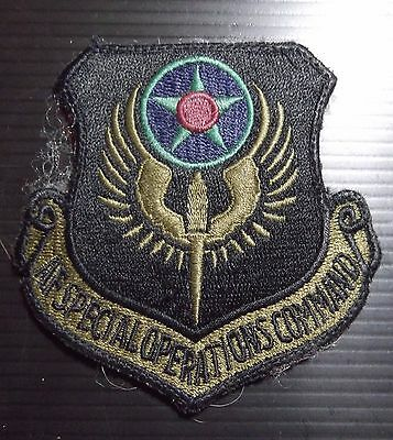 US Airforce Special Operations Command Patch Velcro backed