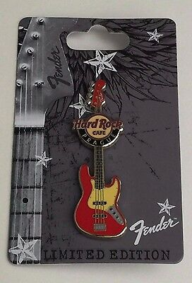 Hard Rock Cafe Prague 2011 Fender Guitar Series Pin. Limited Edition. Brand New.