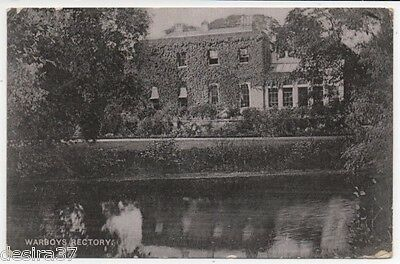 Cambridgeshire Postcard Warboys Nr Ramsey & Somersham The Rectory Posted 1906