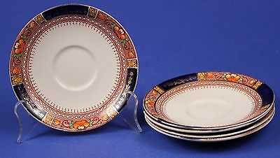 Vintage J & G MEAKIN (5) QUEEN MARY Saucers