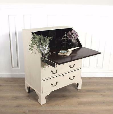 Shabby Chic Bureau writing desk dresser French Painted Vintage Antique chateau