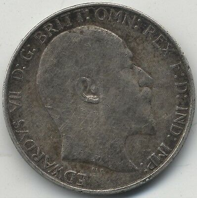 1908 Edward VII Silver Florin/Two Shillings***Collectors***