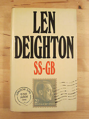 SS-GB by Len Deighton (Hardback) 1st Edition