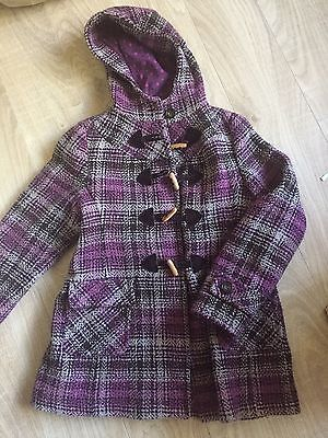 Monsoon Girls Check Coat