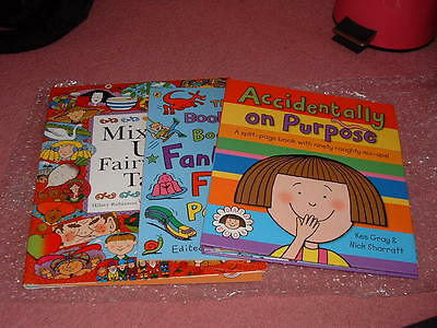Small bundle of childrens books x 3