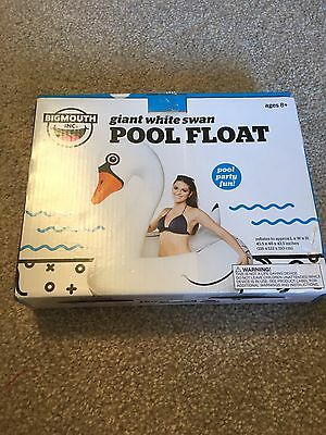 Bigmoutg Inflatable Swan Pool Toy Adult Size From River Island