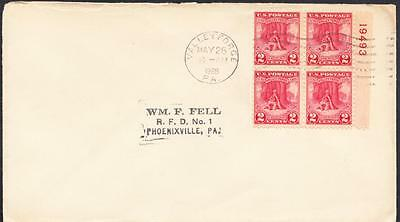 WASHINGTON AT VALLEY FORGE Stamps Plate Block 645 First Day Cover FDC (894)