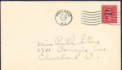 MOLLY PITCHER Stamp 646 First Day Cover FDC (895)