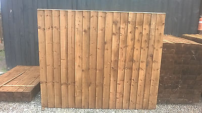 Fence Panels 6X5 Ft Close Board Fully Pressure Treated Feather Edge