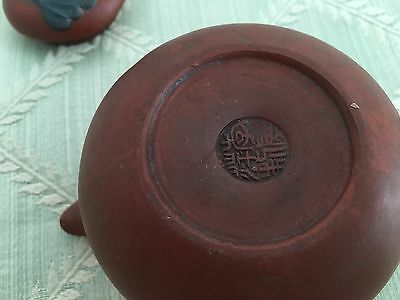Small Asian Tea Pot (Vintage Antique Marked Japan Japanese China Asia Pottery)
