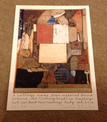 Peter Blake  -  Hastings Car Boot  - Signed Col Print  - Ltd Edition   Authentic
