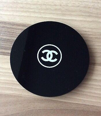 Chanel Round Vanity Mirror Black Promotional Item