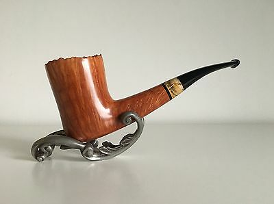 """Superb CASTELLO """"Collection KKK Great Line"""" millenary stone pipe VERY RARE! NEW!"""