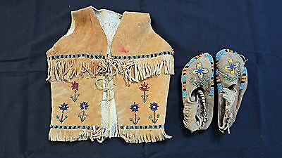 Vintage Child's Native American Indian Costume