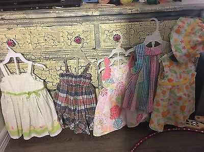 Lot Girls Clothes Size 12-18 Months And 18 Months