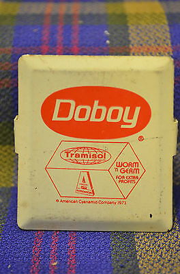 Vintage Advertising DOBOY Tramisol 1973 Magnetic Clip