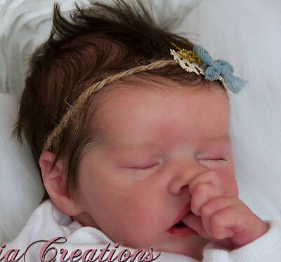 "New Reborn Baby Doll Kit Twin A By Bonnie Brown @ 17"" @ Body Included"
