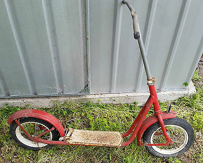 Vintage Scooter Kids Scooter Collectable
