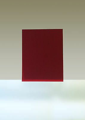 """Rubylith, 1 Sheet, 11"""" x 14"""", Red"""