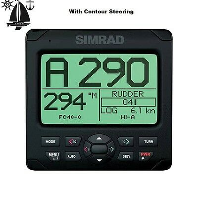 Simrad AP24 Marine Autopilot System, Ideal For Power, Fishing and Sailing Boats