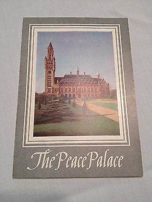 The Peace Palace Booklet Deboer Holland