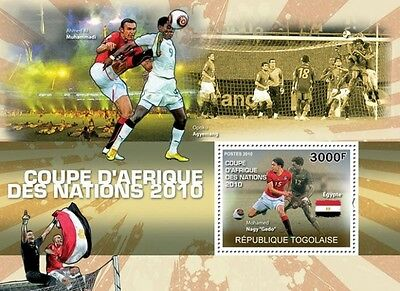 Africa Football Cup of Nations 2010 s/s Togo 2010 Mi. Bl. 547 MNH #TG10304b