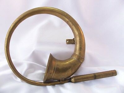 Vintage Brass Bicycle / Car Horn India Made