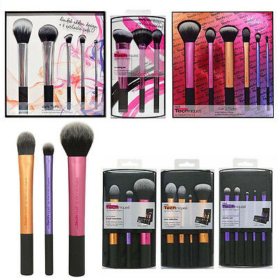 Hot Fashion Makeup Brushes Kit Real Techniques Brushes Set Cosmetic Beauty Tools