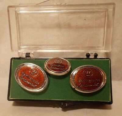 Westinghouse Continental Tie Pin and Cuff Set