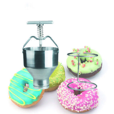 Commercial Manual Donut Maker Machine With Stainless Steel Body Aluminum Handle