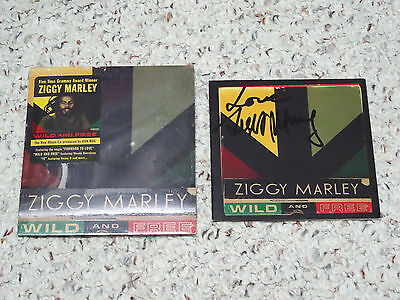 Signed/Autographed Wild and Free by Ziggy Marley! Bob Damian Genuine Signature!