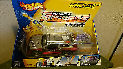 Hot Wheels Formula Fuelers Racers NIB 2003 Silver/Red with Nitrox2 Booster
