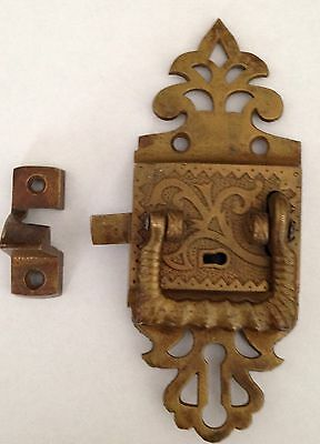 Vintage Icebox Door  Latch