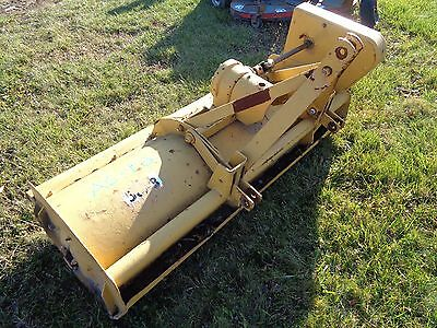 """Ford 60"""" Offset Flail Mower Bush Hog Tractor 3 Point 540 Pto"""