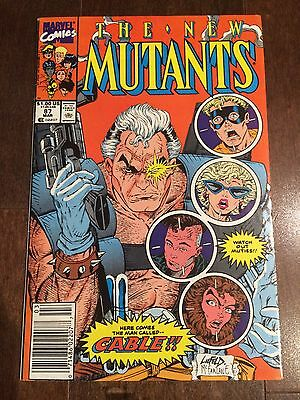 NEW MUTANTS 87 1st APPEARANCE CABLE DEADPOOL SEQUEL GREAT COPY