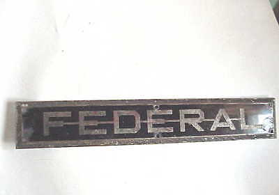 Antique FEDERAL Sign. Courthouse Door?